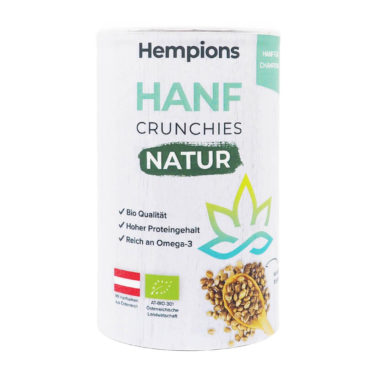 Bio Hanf Crunchies Natur 200 g