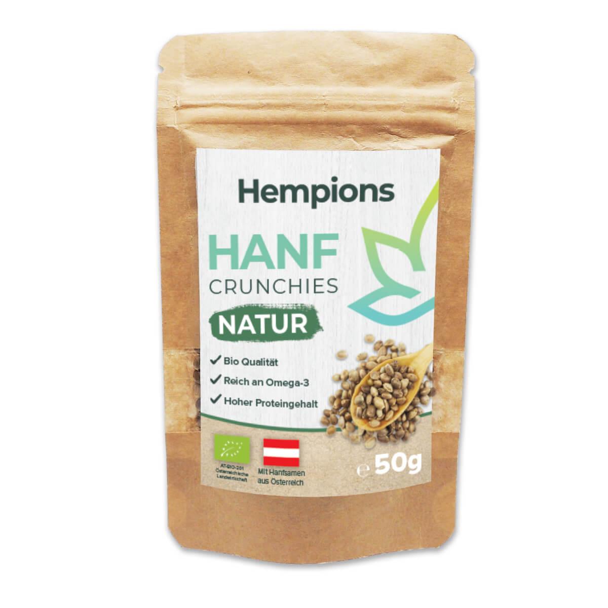 Bio Hanf Crunchies Natur 50g