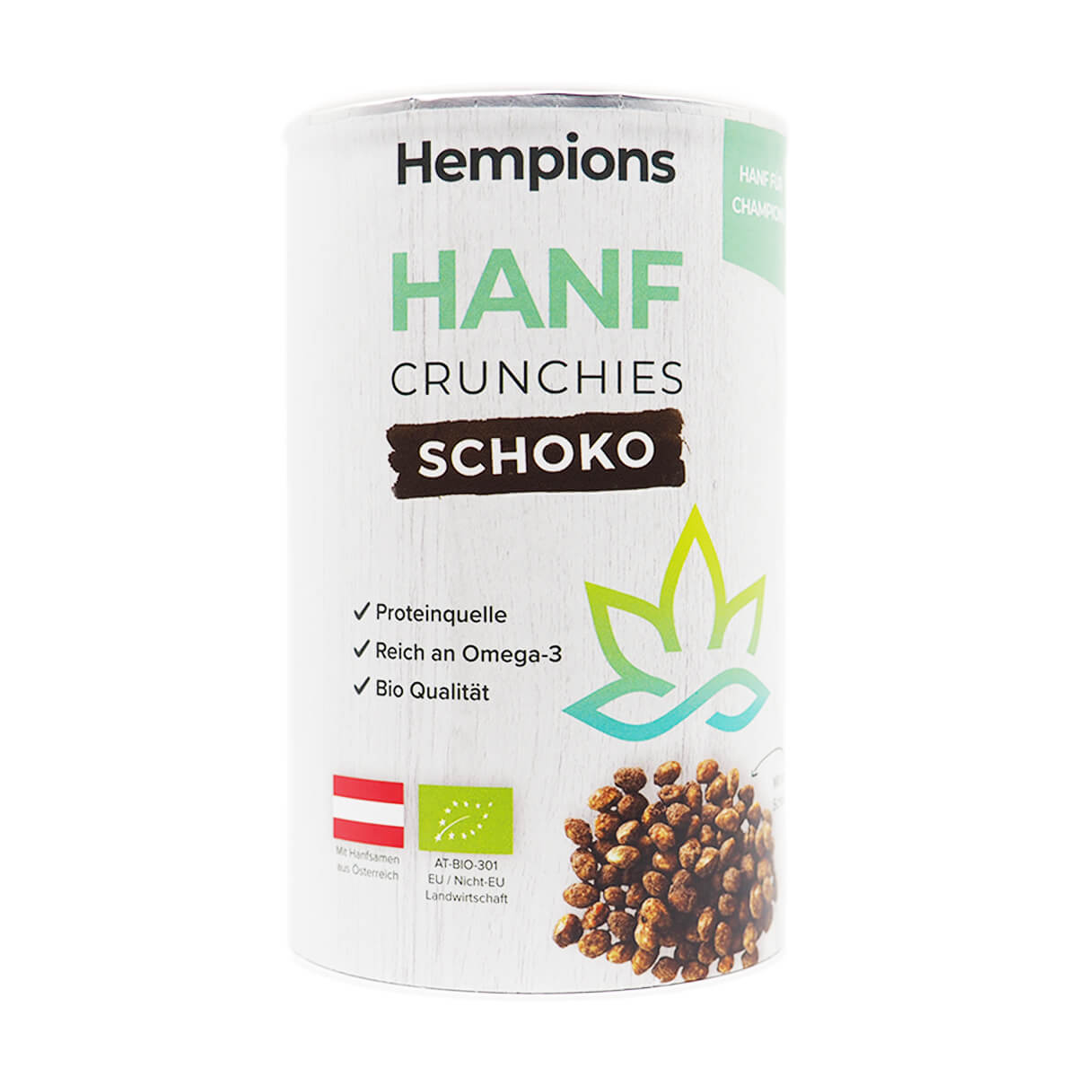 Bio Hanf Crunchies Schoko 200 g