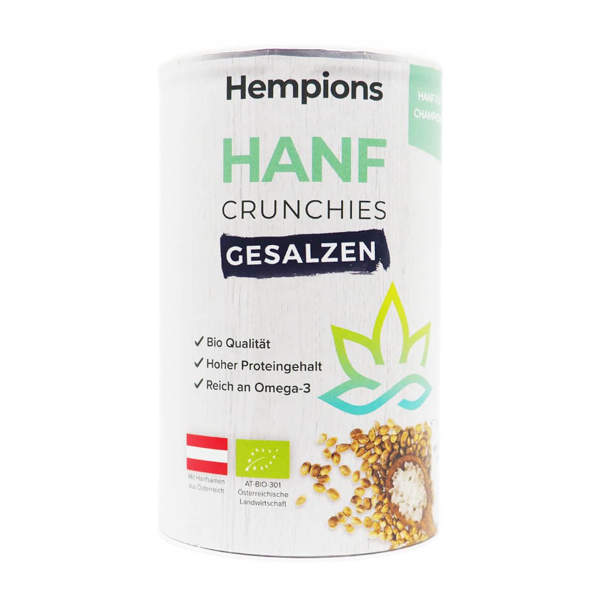 Bio Hanf Crunchies gesalzen 200 g