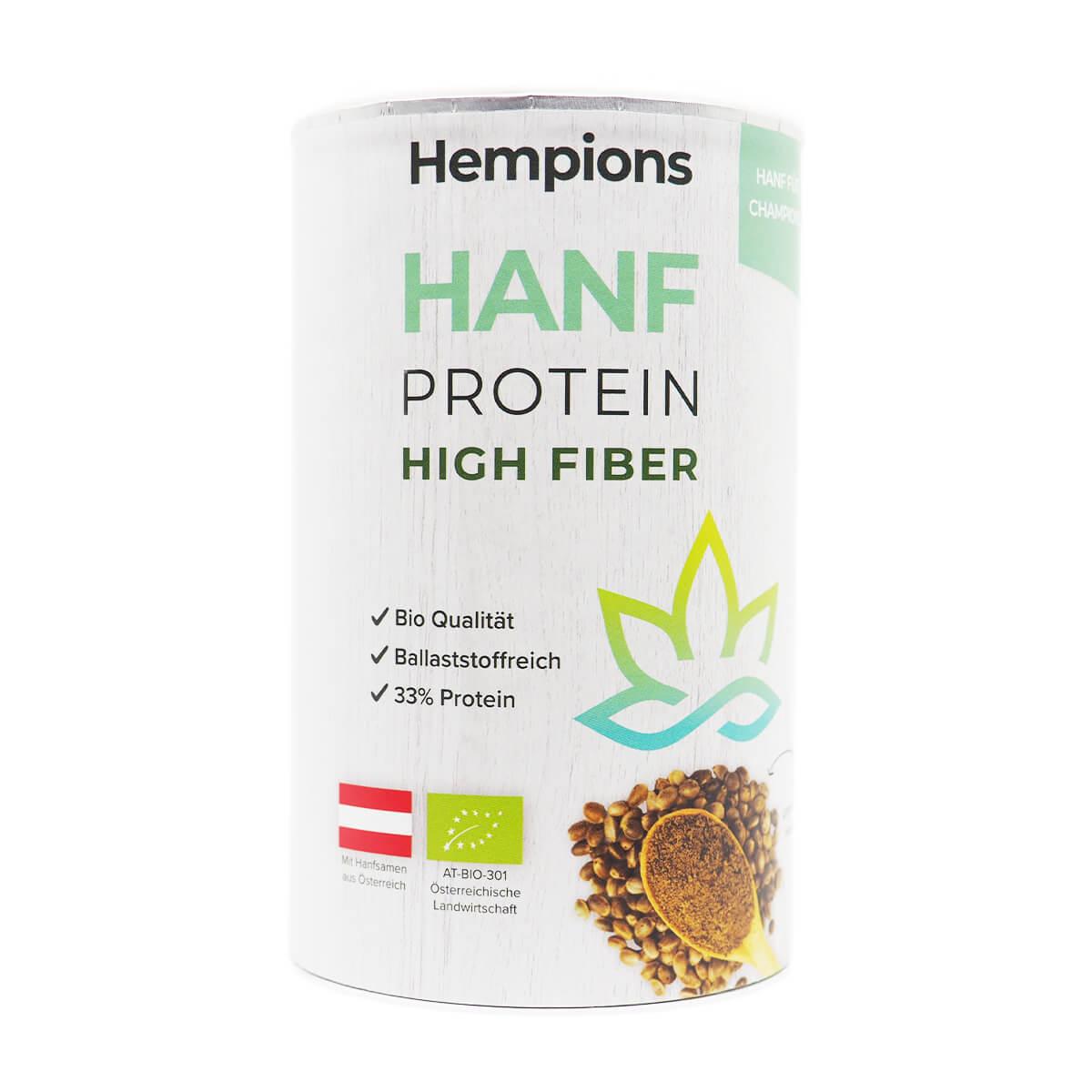 Bio Hanfprotein High Fiber 175 g