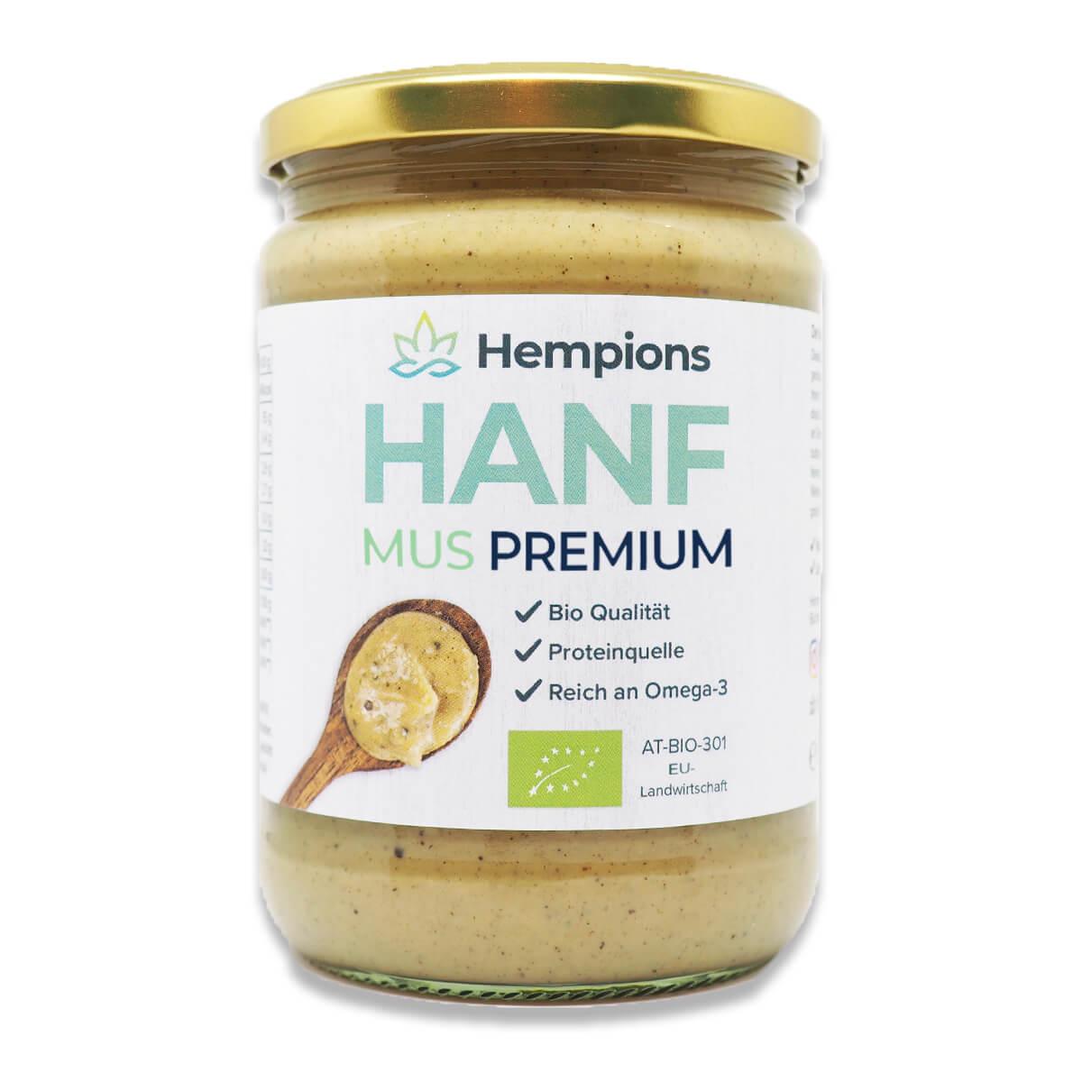 Bio Hanfmus Premium 500 g
